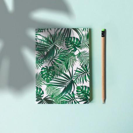 Crayon personnalisé en papier recyclé gomme verte