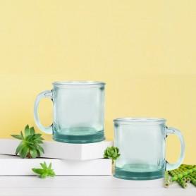 Mug en verre recyclé