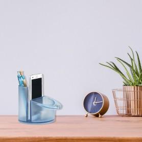 Pot à crayon et porte-téléphone 100% PET recyclé 1