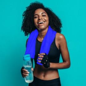 Serviette sport 100% PET recyclé