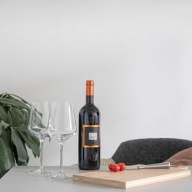 Coffret cadeau de vin en bois FSC durable
