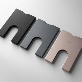 Portefeuille en aluminium recyclé 7 cartes 2
