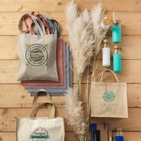 Sac shopping en coton recyclé 150 g/m²