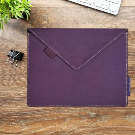 Pochette tablette universelle 100% coton recyclé
