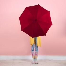 Parapluie publicitaire toile 100% PET recyclé