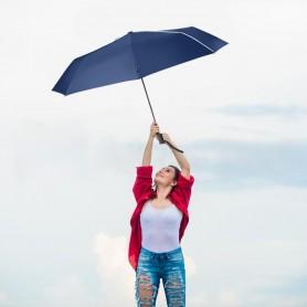 Mini parapluie pliable toile 100% PET recyclé