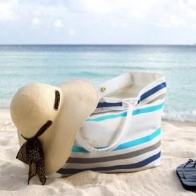 Sac de plage publicitaire 100% coton biologique