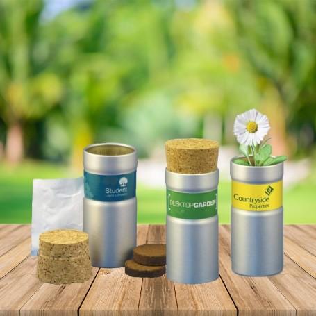 Graines à planter en tube aluminium recyclé