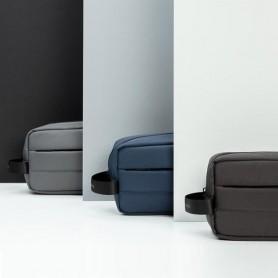 Trousse de toilette publicitaire gris, bleu marine ou noir