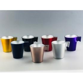 Mug en verre recyclable Français