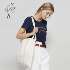 Sac shopping bio fabriqué en France