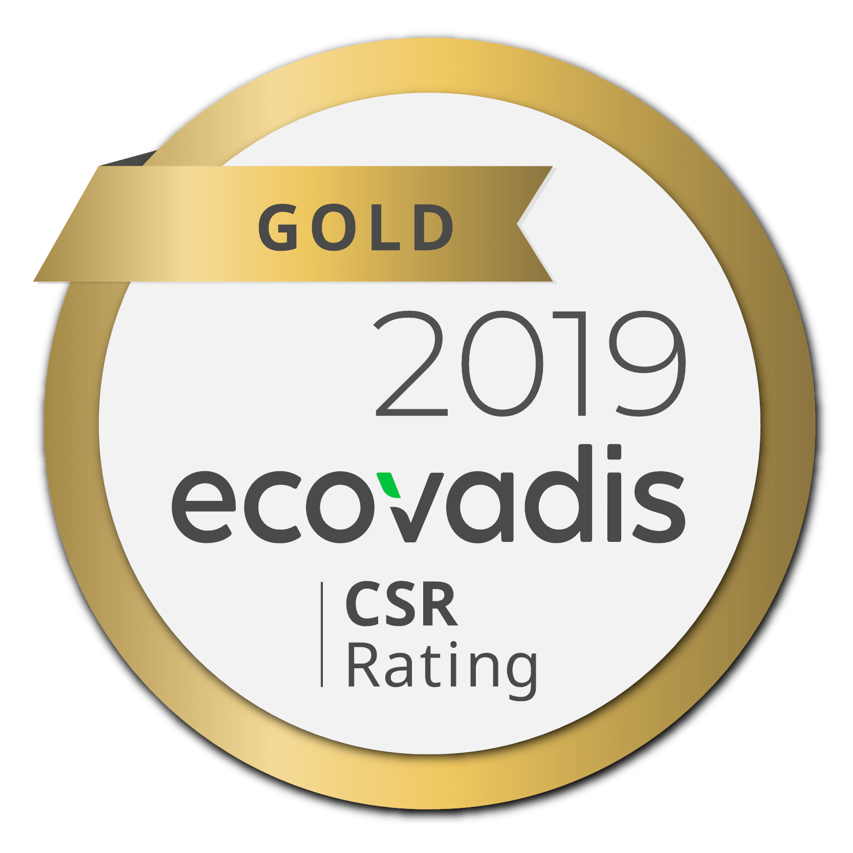Certification BV : Ecovadis Gold